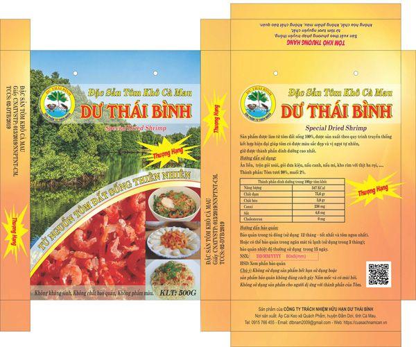 Tôm khô Dư Thái Bình